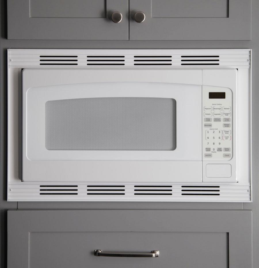 Micro Trim Inc. - White Microwave Trim Kit