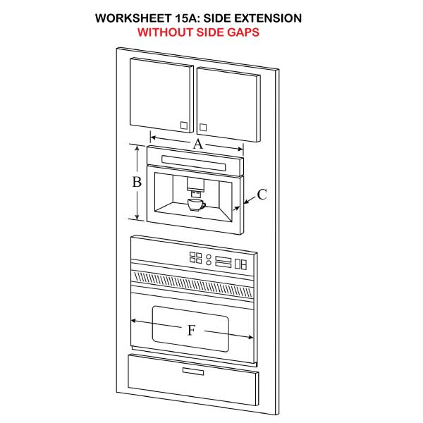 Side Extension without side gaps illustration 15A
