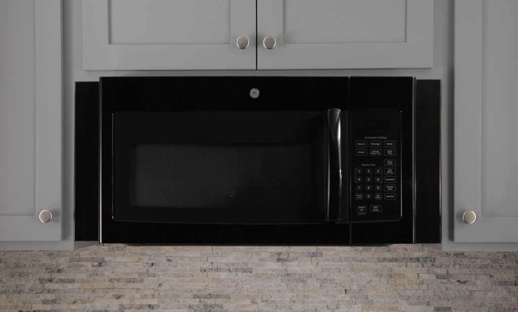Micro Trim - Black Microwave Kit