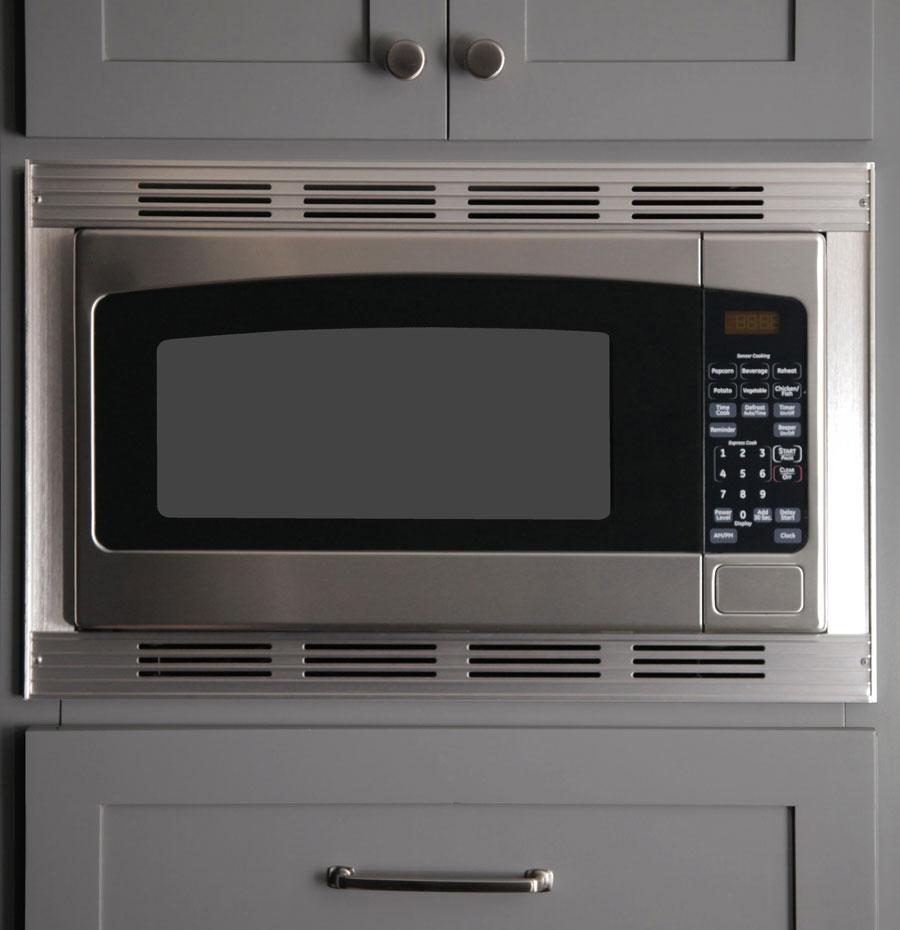 Micro Trim Inc. - Stainless Steel Finish Microwave Trim_Kit1