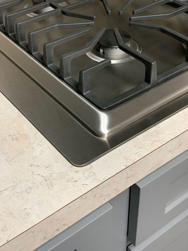 Micro Trim Inc. - True Stainless Cooktop Kit