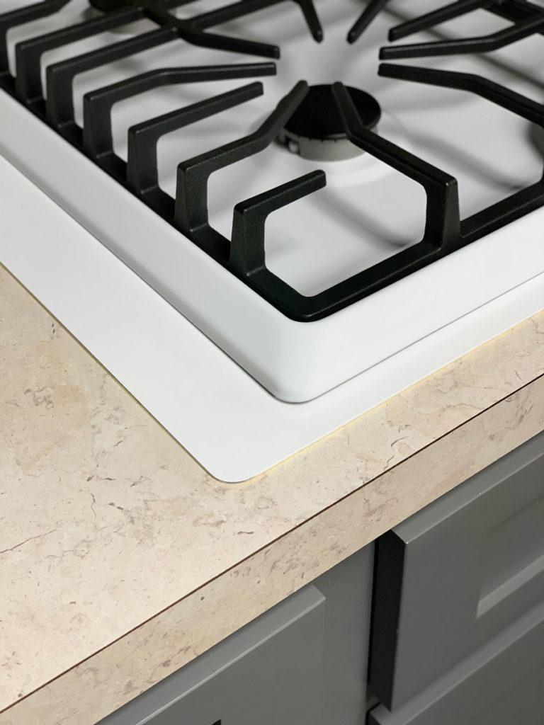 Micro Trim Inc. - White Cooktop Kit